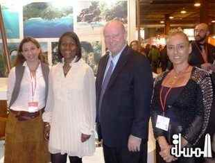 Seychelles at FITUR 2014 in Madrid Spain