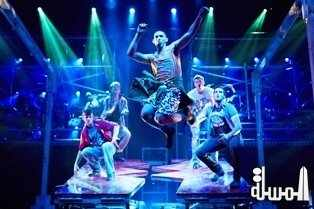 ein Perry s TAP DOGS at Jumeirah Madinat Theatre