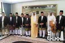 The Minister of Hajj meets the delegation of the Brunei Office of Hajj Affairs