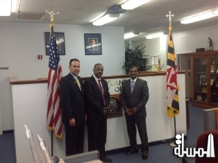 Minister Sinon of Seychelles Honored in Maryland; Bringing Recognition of the Seychelles to the U.S.A.