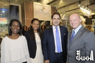 At IFTM in Paris – French Secretary of State for Tourism, Matthias Feckl meets Alain St.Ange, the Seychelles Minister for Tourism and Culture