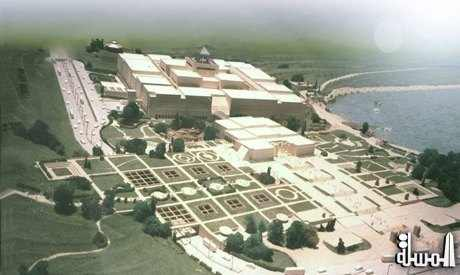 The cultural section of the National Museum of Egyptian Civilization is to open end of November