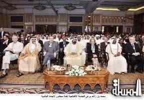 Sheikh Mohammed attends Summit on the Global Agenda 2014