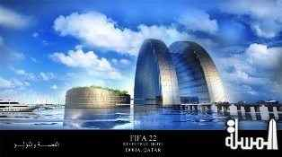 1000 Plus Room Silver Pearl Hotel Proposed for 2022 FIFA World Cup in Qatar