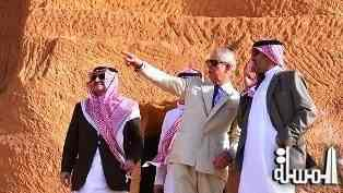 Saudi Ambassador to Britain: Prince Charles admired the efforts of national heritage protection in the Kingdom