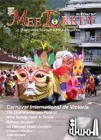 Tourism promotion with success as Seychelles carnival makes cover page of May 2015 edition of European magazine
