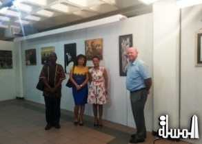 Arts Exhibition in Seychelles for FetAfrik to mark Africa Day 2015 sees participation from mainland Africa