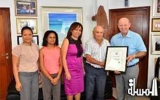 Heliconia Grove gets certified as a Seychelles Sustainable Tourism Label establishment