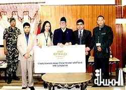 Etihad employees rally to drive donations for Nepal