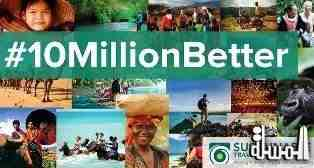 The 10 Million Better Campaign Launches As A Focus For Tourism That Improves Lives And Protects Places