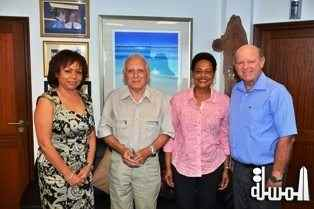 Canada and Haiti discuss with Seychelles about possible future cooperation in the field of Cultural Events