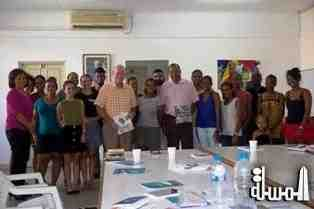 Ministers Alain St.Ange & Michael Benstrong call on the Seychellois youth to claim back the island's tourism industry
