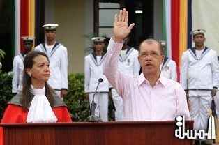 I remain determined to bring together the people of Seychelles, to work together- President Michel is sworn into office