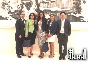 Seychelles delegation attended the first world conference on Tourism Development in Beijing China