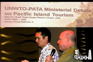 UNWTO-PATA special Ministerial Debate Island of Guam had the Seychelles Minister for Tourism as VIP guest on the panel