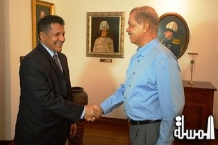 Courtesy call by the Chairman of BADEA's Board of Directors on Seychelles President