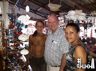 Albert Durand of Praslin continues to produce 'Made in Seychelles' souvenir products