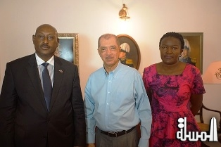 Uganda lobbies Seychelles' support for African Union Commission chair