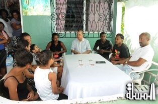 Seychelles President visits families of victims of 'Faith' boat accident