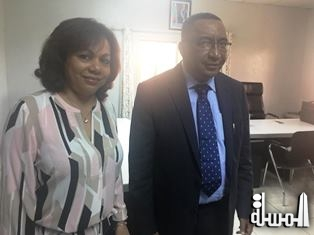 Vice President of the Union of the Comoros meets with Seychelles Principal Secretary for Tourism