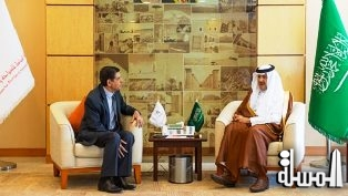 SCTH President receives Bosnian Ambassador to Saudi Arabia