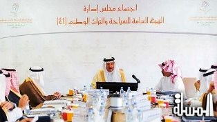 Sultan bin Salman chairs the 41st meeting of SCTH Board of Directors