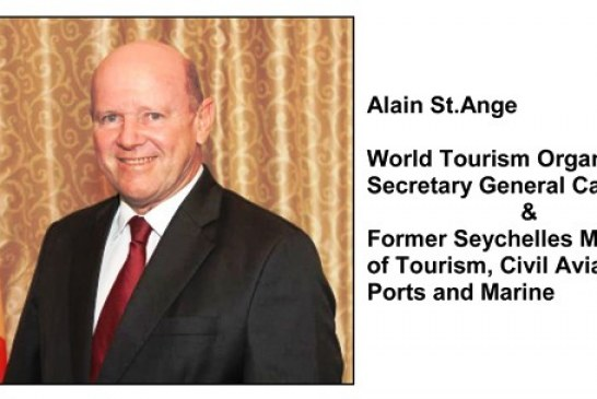 Tourism for all- without discrimination is the message being pushed GIHP, throws support behind Alain St.Ange for SG of the UNWTO