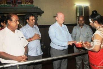 Hindus of Seychelles offer special thanksgiving prayers for former Minister St.Ange as they wish him well with his bid as the Seychelles Candidate for the post of Secretary General of the UNWTO
