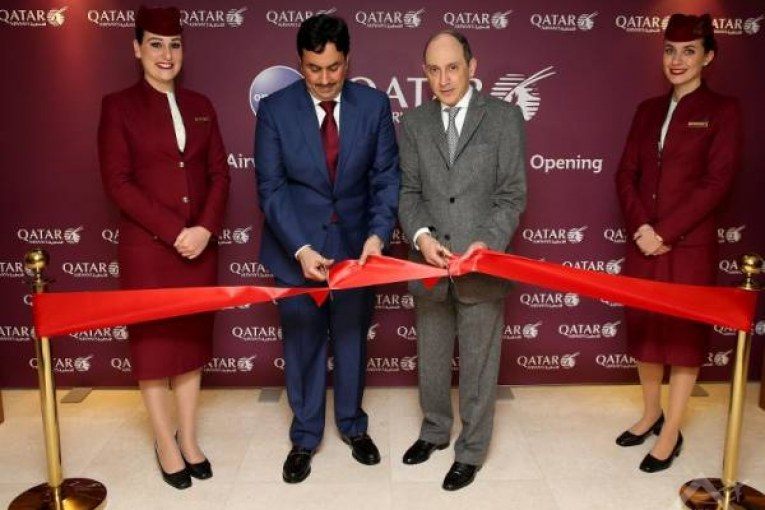 Qatar Airways Group Chief Executive, Akbar Al Baker officially opened the new and luxurious Qatar Airways Premium Lounge at Paris-Charles de Gaulle Airport