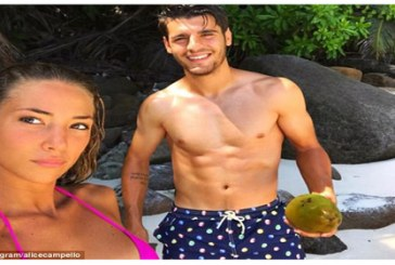 International media buzz on Spanish football star Alvaro Morata whisking new wife to honeymoon in Seychelles