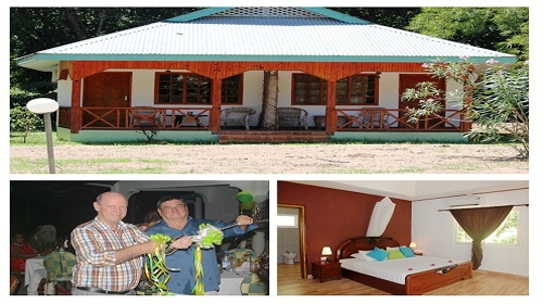 Opening night of Le Bamboo Guest House on La Digue