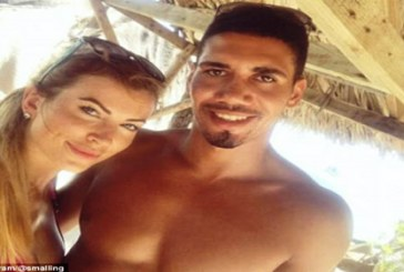 Manchester United centre-back Chris Smalling enjoys summer break in Seychelles with new wife