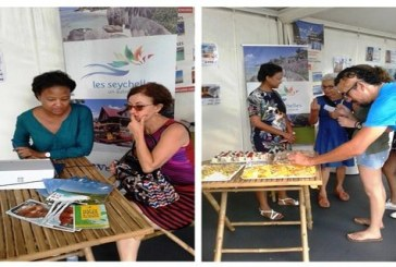 Seychelles Tourism Board joins 'Florilèges' consumer fair in Reunion, records increased interest in the destination