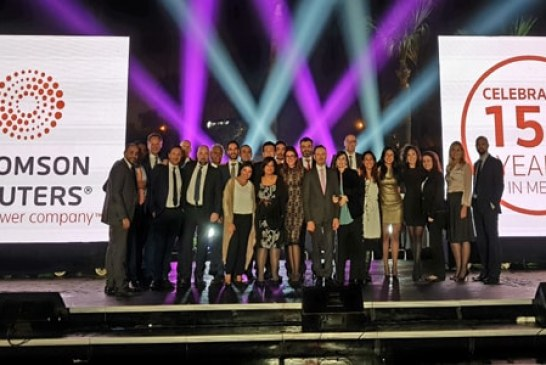 Thomson Reuters celebrates 150 years in MENA