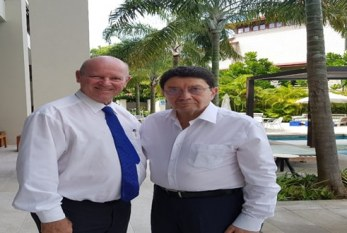 """Tourism Recovery now has a plan called """"HOPE"""" Dr. Taleb Rifai with Alain St. Ange explains HOPE Recovery plan by the African Tourism Board"""