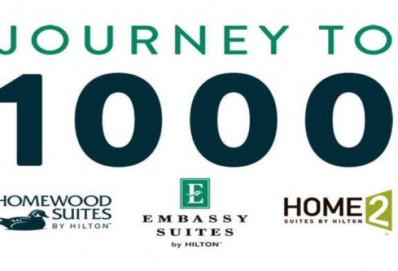 All Suites Brands by Hilton Reach 1,000th Property Milestone with Opening of Homewood Suites by Hilton in Pleasant Hill, California