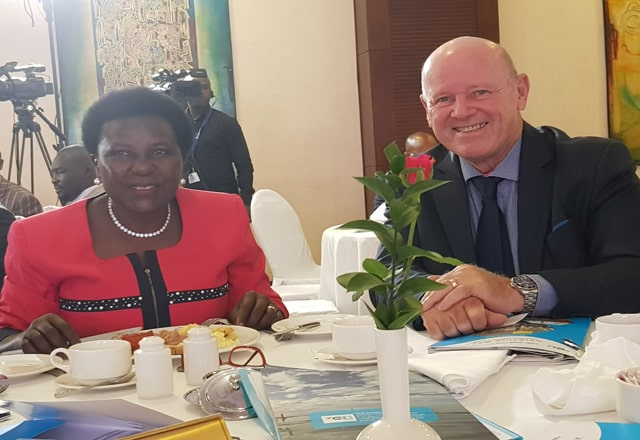 Seychelles' Alain St.Ange captures Uganda Civil Aviation Conference