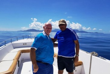 Seychelles Islander leads the way in cruising the Indian Ocean