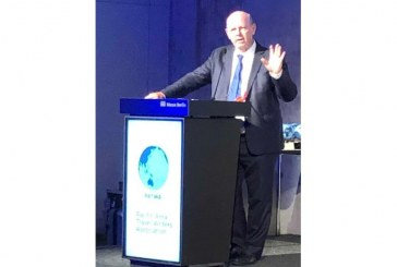 Alain St.Ange of Seychelles addresses PATWA 2019 conference in Berlin