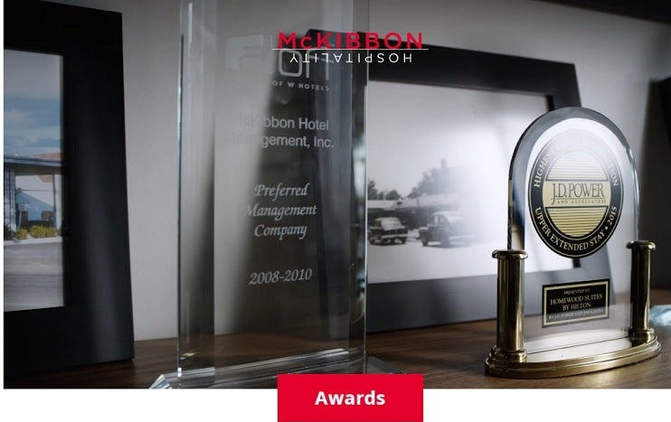 McKibbon Hospitality Wins Five Marriott CFRST Awards