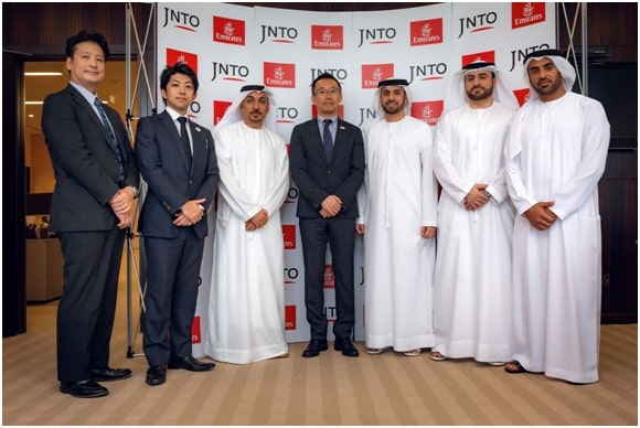 Japan (JNTO) Signs Memorandum of Cooperation with Emirates to Increase Visitors from the Middle East