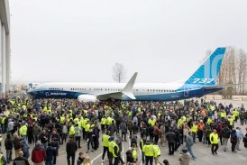 Boeing 737 MAX 10 Makes its Debut