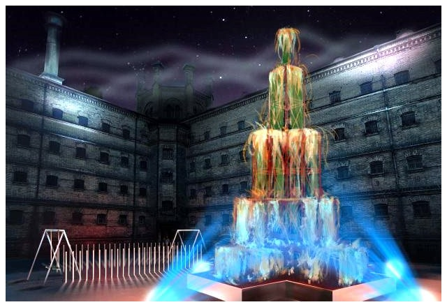 Vilnius Transforms Century-Old Former Prison into Space for Contemporary Christmas-Themed Installations