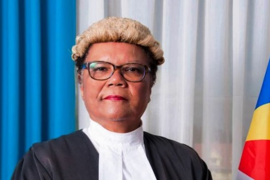 The One Seychelles, political party extends heartfelt congratulations to Mrs. Alexia Amesbury upon her election to the African Commission for Human and People's Rights