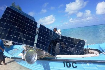 Google Loon stratospheric balloon lands in Seychelles waters says former Tourism Minister St.Ange
