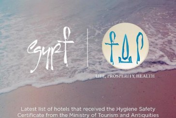 "Latest list of Egyptian hotels that have received the ""Hygiene Safety"" certificate"