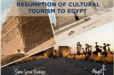 The regulations for the Resumption of Cultural Tourism to Egypt