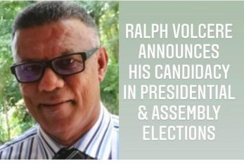 """""""Seychellois, let's seize our great opportunity NOW to create a new era in Seychelles"""" –urges Independent Presidential candidate Ralph Volcere"""