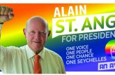 Alain St.Ange – one of three duly nominated Presidential Candidates
