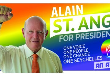 Alain St.Ange..I shall NOT be siding with or otherwise supporting either red or green camps in the upcoming elections